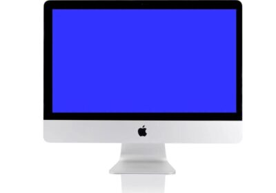 Your Mac got stuck on a blue screen – Here's how to fix it.